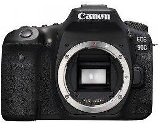 Canon EOS 90D DSLR Camera (Body Only) - Official Warranty