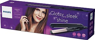 Philips HP8321/00 Essential Care Straightener with Long Plates 210 °C - Black