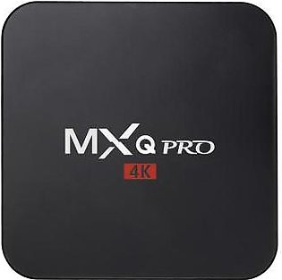 MXQ Pro Android TV box with Quad Core CPU, 1GB DDR3 ram and 8GB SSD storage