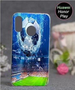Huawei Honor Play Cover Case - Football Cover (D2)
