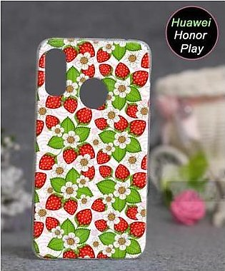 Huawei Honor Play Cover Case - Floral Cover (D12)