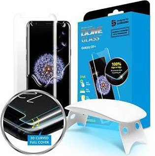 Whitestone Galaxy S9 PLUS Glass Tempered Glass Screen Protector with UV