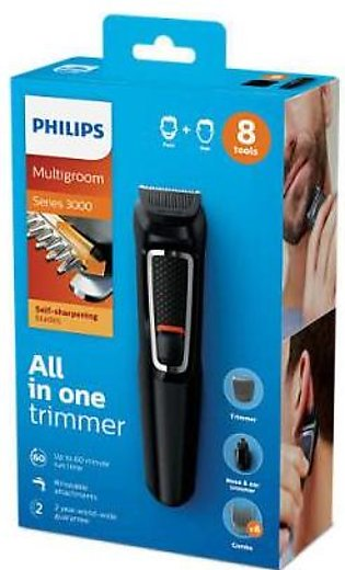 Philips MG3730/15 Multigroom face and hair styler series 3000