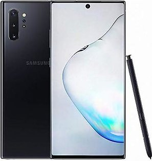 Samsung Galaxy Note 10 Plus Single Sim (4G, 12GB RAM, 256 ROM,Aura Black)