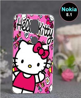 Nokia 8.1 Back Cover - Hello Kitty Cover