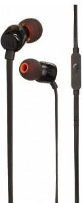 JBL Tune T110 in Ear Headphones - Black
