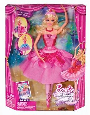 Mattel Barbie In The Pink Shoes Transforming Ballerina Kristyn Doll