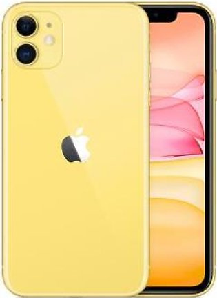 Apple iPhone 11 (4G, 64GB ,Yellow) Non-PTA