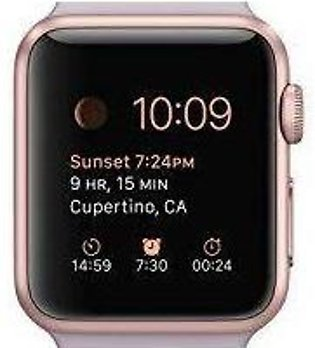 Apple Watch Series 3 42mm Smartwatch Rose Gold