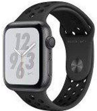 Apple Watch Series 4 Nike+ - 44mm Space Gray Aluminum Case with Anthracite/Bl...