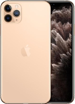 Apple iPhone 11 Pro Max (4G, 256GB, Gold) With Official Warranty