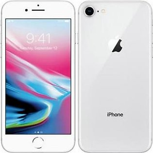 Apple iPhone 8 (4G, 64GB, Silver) American Used Stock - PTA Approved