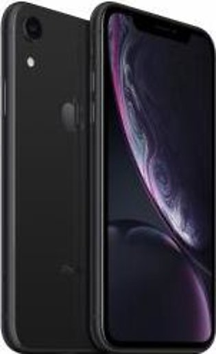 Apple iPhone XR (4G, 128GB, Black) With Official Warranty