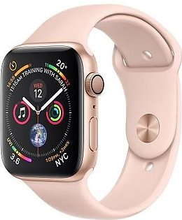 Apple Watch Series 4 MU682 40mm Gold Aluminum Case With Pink Sand Sport Band (GPS)