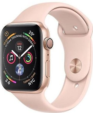 Apple Watch Series 4 MU682 40mm Gold Aluminum Case With Pink Sand Sport Band ...