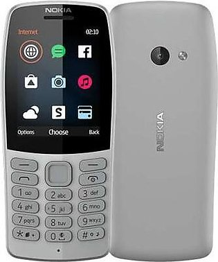 Nokia 210 Grey With 1 Year Official Warranty