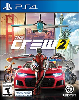 THE CREW® 2 Game | PS4 - PlayStation (Region 2)