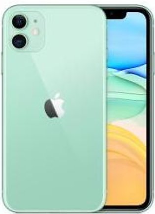 Apple iPhone 11 Dual Sim (4G, 64GB ,Green) Non-PTA