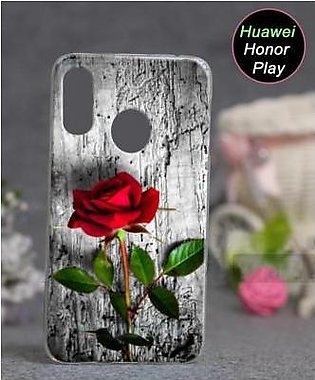 Huawei Honor Play Cover Case - Rose Cover