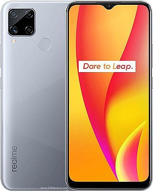 Realme C15 (4G 4GB 64GB Seagull Silver) With Official Warranty