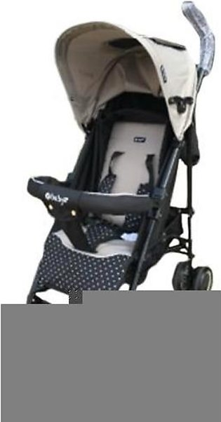 Sports Pram 4 Wheel - Off White