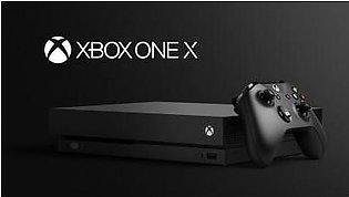 Microsoft Xbox One X 1TB - Black