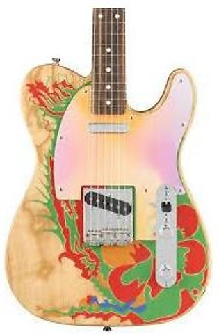 Fender Jimmy Page Telecaster - Natural w/ Artwork
