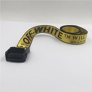 Off-White Industrial Yellow Belt