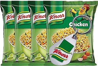 BUY 4 Knorr Noodles Chicken 66g and GET Knorr Key Chain FREE