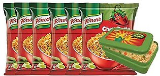 BUY 6 Knorr Noodles Chatt Patta 66g and GET Lunch Box FREE