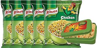 BUY 6 Knorr Noodles Chicken 66g and GET Lunch Box FREE