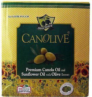 Canolive Cooking Oil With Olive Exract Poly Bag Box