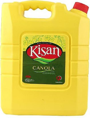 Kisan Canola Cooking Oil J. Can