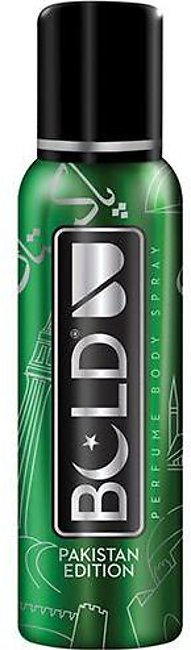 Bold Life Pakistan Edition Body Spray