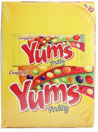 Candyland Yums Fruity 450 Gm Box