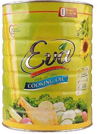 Eva Cooking Oil Tin