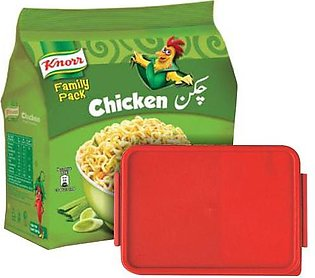 BUY Knorr Chicken Noodle Family Pack GET Lunch Box FREE