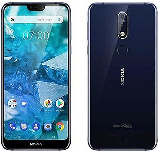 Nokia 7.1 | Gloss Midnight Blue | With Official Warranty