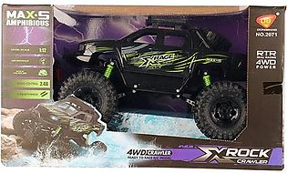 Remote Controlled Amphibious Waterproof Off Road Rock Craweler (1:12 Scale) Bug…