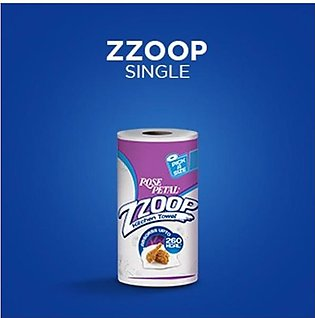 Rose Petal Zzoop Kitchen Towel Single (Ultra Strong)