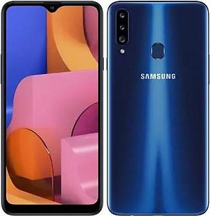 Samsung A20-S   Blue   With Official Warranty