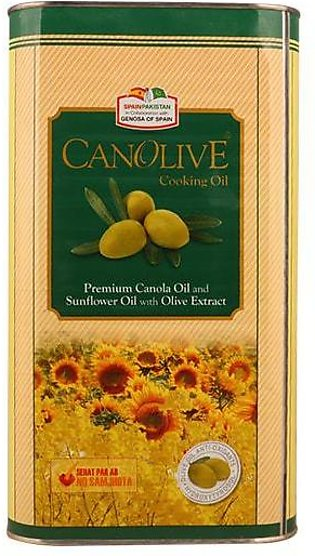 Canolive Cooking Oil Tin
