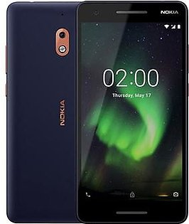 Nokia 2.1 Dual Sim | Blue/Silver | With Official Warranty