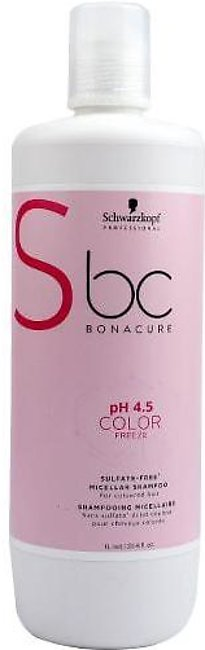 Bonacure Ph 4.5 Color Freeze Sulfate Free Micellar Shampoo