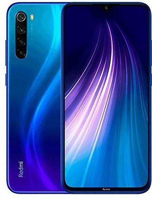 Xiaomi Redmi Note 8 | Neptune Blue | With Official Warranty