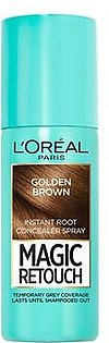 L'Oreal Paris Magic Retouch Root Touch Up Hair Color Spray Golden Brown - 75ml