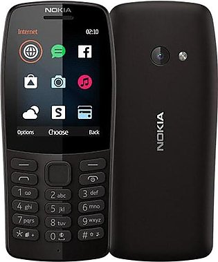 Nokia 210 Dual Sim | Charcoal | With Official Warranty