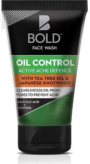 Bold Oil Control Active Acne Defence Face Wash