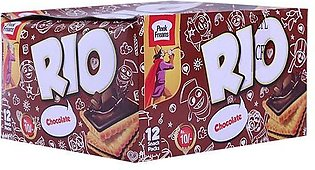 Peek Freans Rio Chocolate Biscuit Snack Pack Box