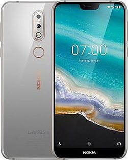 Nokia 7.1 | Gloss Steel | With Official Warranty
